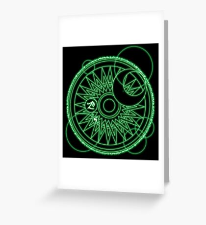 Magic Circle Greeting Card