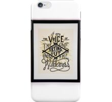 I AM THE VOICE iPhone Case/Skin