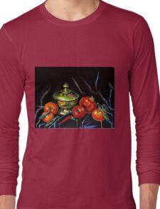 Black Still Life Long Sleeve T-Shirt