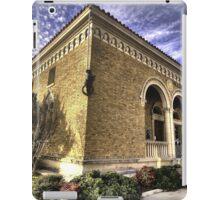 City Library - Hillsboro, Texas iPad Case/Skin