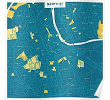 Nashville - City Colors edition Poster