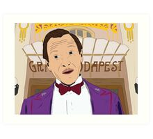 M. Gustave - The Grand Budapest Hotel, Wes Anderson Art Print