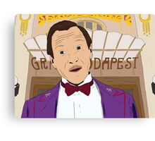 M. Gustave - The Grand Budapest Hotel, Wes Anderson Canvas Print