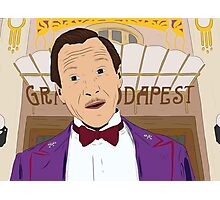 M. Gustave - The Grand Budapest Hotel, Wes Anderson Photographic Print