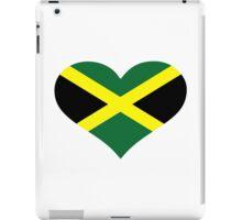 Jamaica flag heart iPad Case/Skin