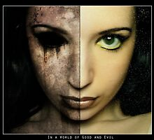 Good and Evil - Two Sides of the Coin by Andrew Mark