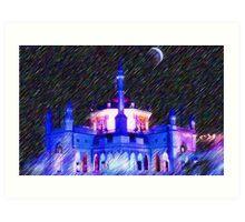 Zahir Mosque Art Print