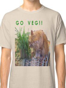 Go Veg! Classic T-Shirt