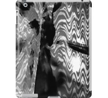 Psychmaster Blackflower 101 BW iPad Case/Skin