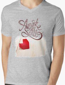 Awake My Soul Mens V-Neck T-Shirt