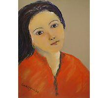 Portrait of Rachel Photographic Print