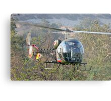 Mash Helicopter Metal Print