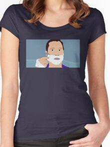 Needle in the Hay - Richie Tenenbaum Women's Fitted Scoop T-Shirt