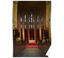 Aisle and Altar Poster