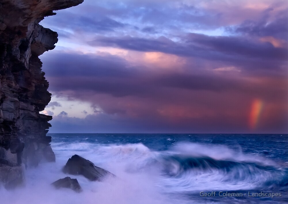 Storm's End by Geoff  Coleman - Landscapes