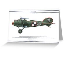 Albatros D.V Jasta 5 - 2 Greeting Card