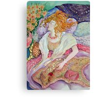 Swooning Canvas Print