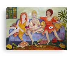 Having a Giggle Canvas Print