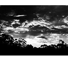 """Dark Dusk"".. Photographic Print"