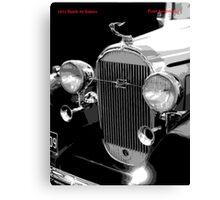 1932 Buick Saloon Canvas Print