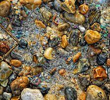 Wet Pebbles by Simon Duckworth