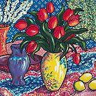Red Tulips by Deborah Conroy