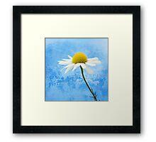White softness Framed Print