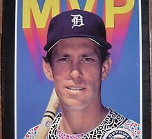 314 - Alan Trammell by Foob's Baseball Cards