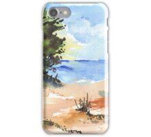 Beach at Mvoti iPhone Case/Skin