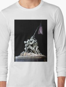 American Symbol of Sacrifice Long Sleeve T-Shirt