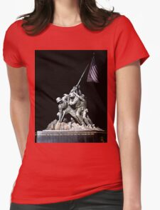 American Symbol of Sacrifice Womens Fitted T-Shirt