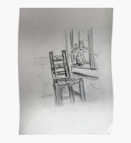 Vincent's Chair Poster