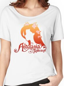Andalasia Fashions Women's Relaxed Fit T-Shirt