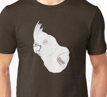 White Cockatiel Unisex T-Shirt