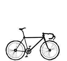 The Fixed Gear Aficionado Bicycle  by grosvenordesign