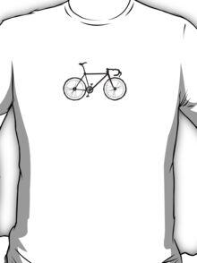 The Fixed Gear Aficionado Bicycle  T-Shirt