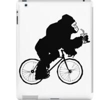 Silverback Gorilla on a Bike iPad Case/Skin