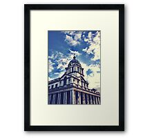 Greenwich Filtered Framed Print