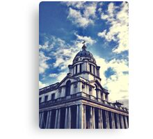 Greenwich Filtered Canvas Print