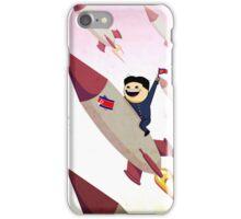 Kim Jong-Un on a Rocket iPhone Case/Skin
