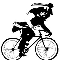 The Fixed Gear Pirate by grosvenordesign
