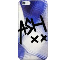 Blue Flannel Ash XX case iPhone Case/Skin