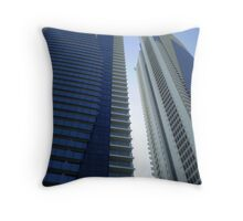 Twin towers, Surfers Paradise, QLD Throw Pillow