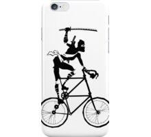 Attack of the Tallbike Ninja grosvenordesign grosvenor John  iPhone Case/Skin