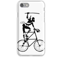 Attack of the Tallbike Ninja grosvenordesign grosvenor John  iPhone Case/Skin