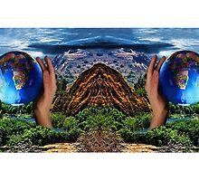 EARTH DAY AWARENESS MUG..EARTH IS CRYING OUT...CAN U SEE IT??  CAN U FEEL IT??  by ✿✿ Bonita ✿✿ ђєℓℓσ