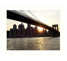 Brooklyn View: East River Slant Art Print