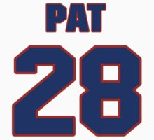 National Hockey player Pat Ribble jersey 28 by imsport