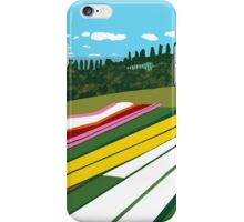 Tulip Farm Panorama (detail) iPhone Case/Skin