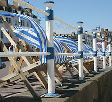 The deck chairs by christhepostman